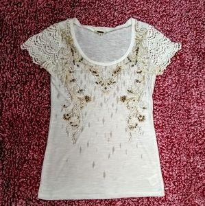 Miss Me embellished top